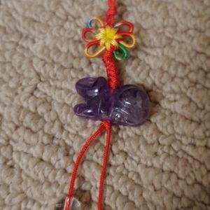 Purple Jade charm free with $30 purchase